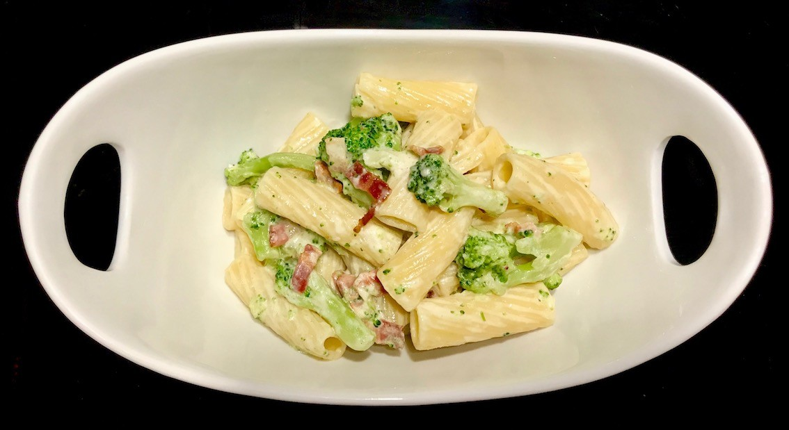 Rigatoni in Parmesan-Sauce
