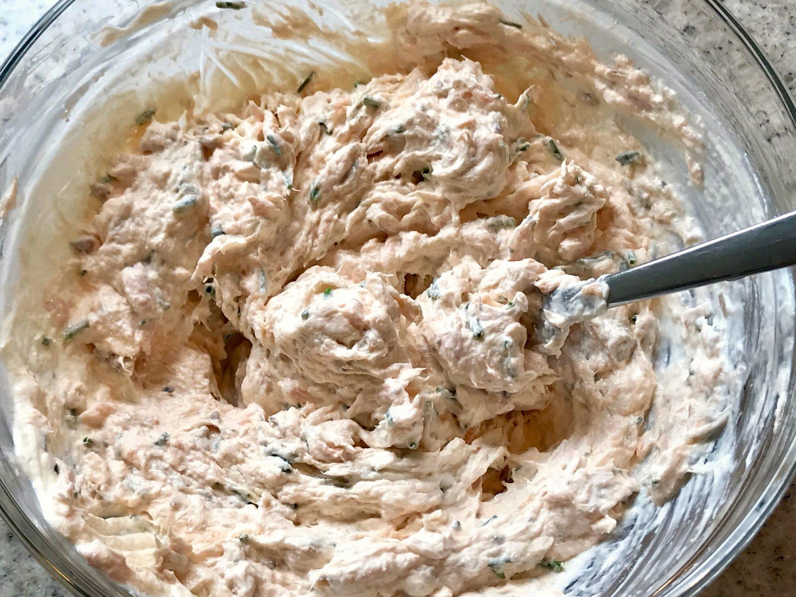 Frischkäse-Lachs-Creme