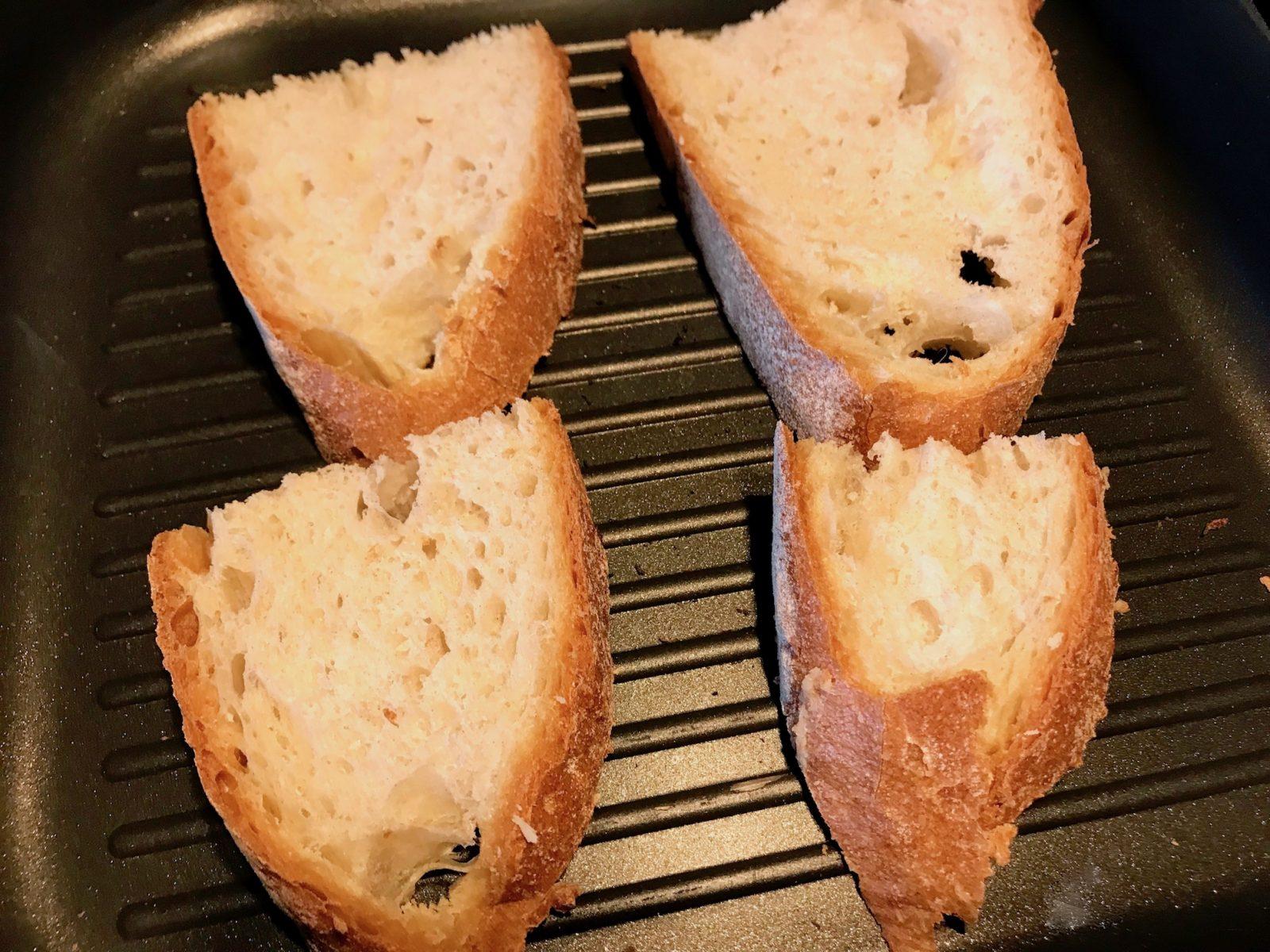 Brot rösten