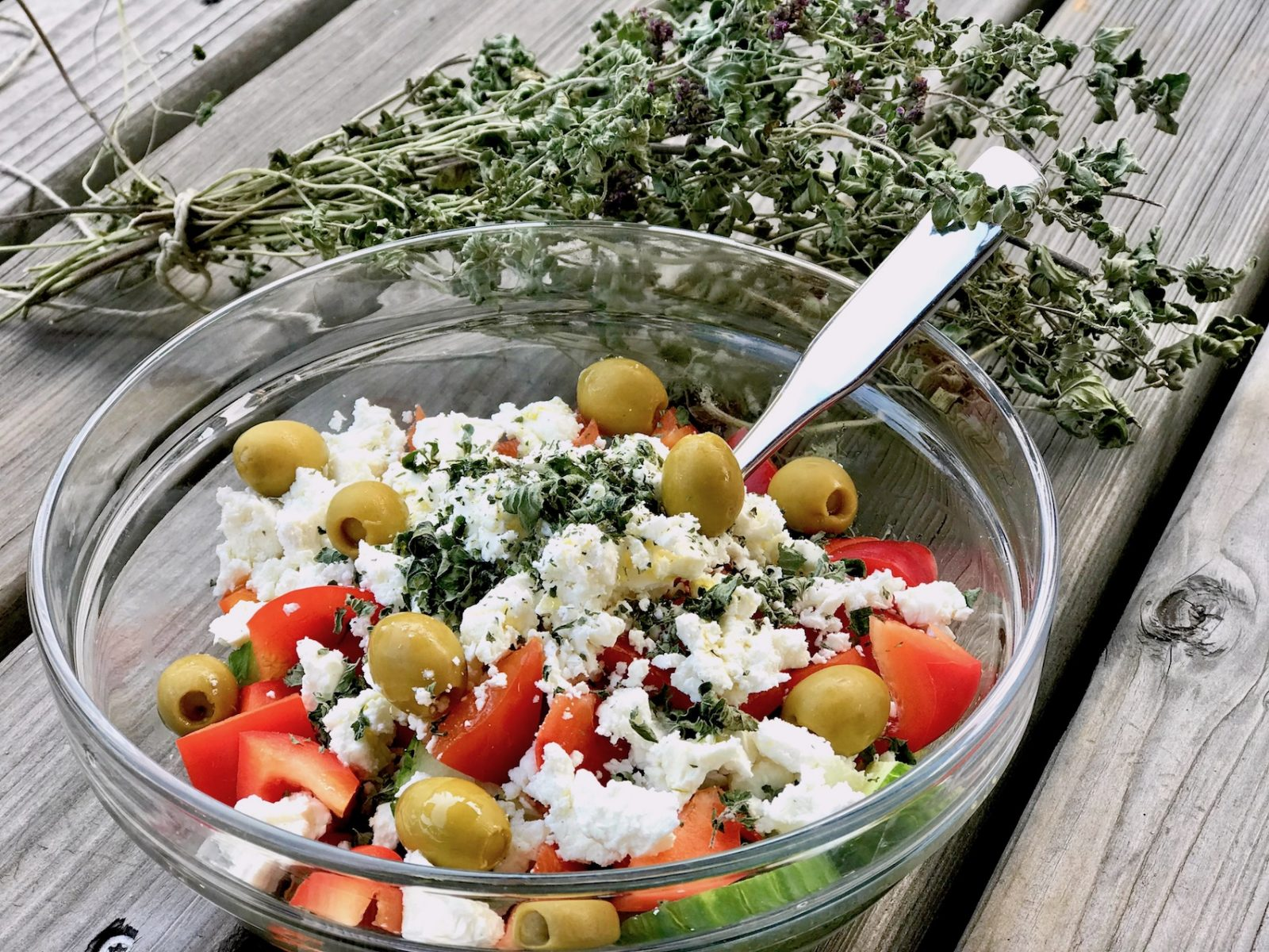Salat Greek Style