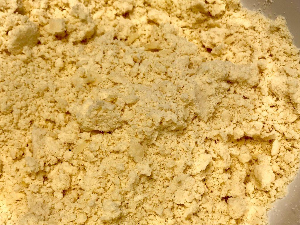 Butter einarbeiten