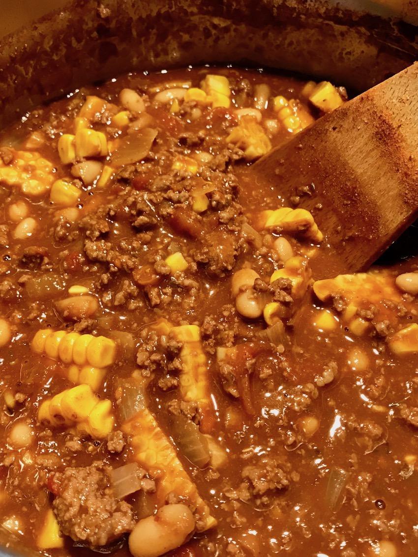 Chili con Carne mit Mais