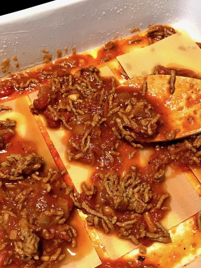 Lasagne schichten