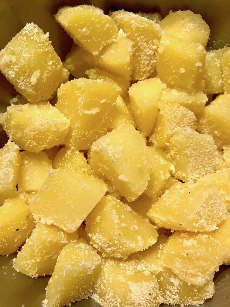 Bratkartoffeln knusprig Trick
