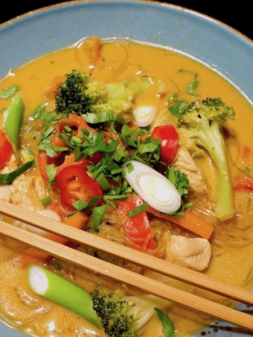 Thai Curry-Suppe