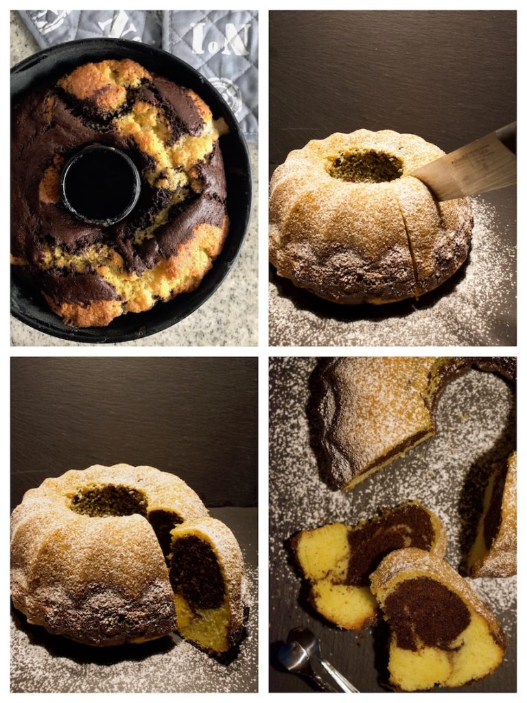 Mamorkuchen Collage