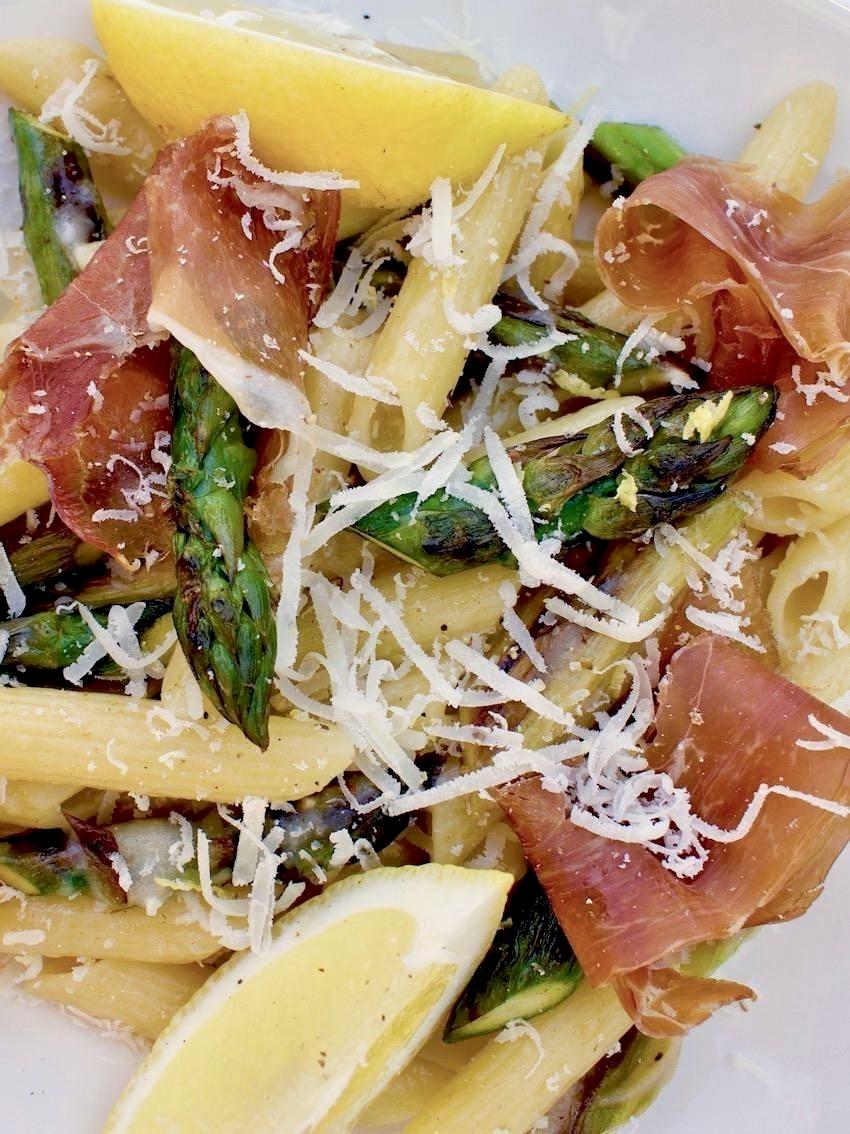 15 Minuten Spargel Pasta
