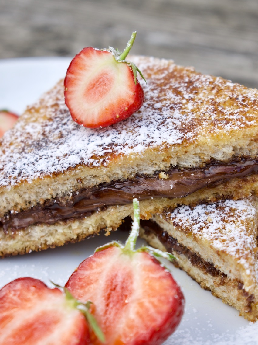 French Toast mit Nutella