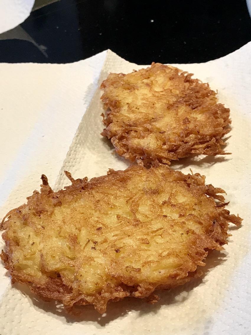 Knusprige Kartoffelpuffer