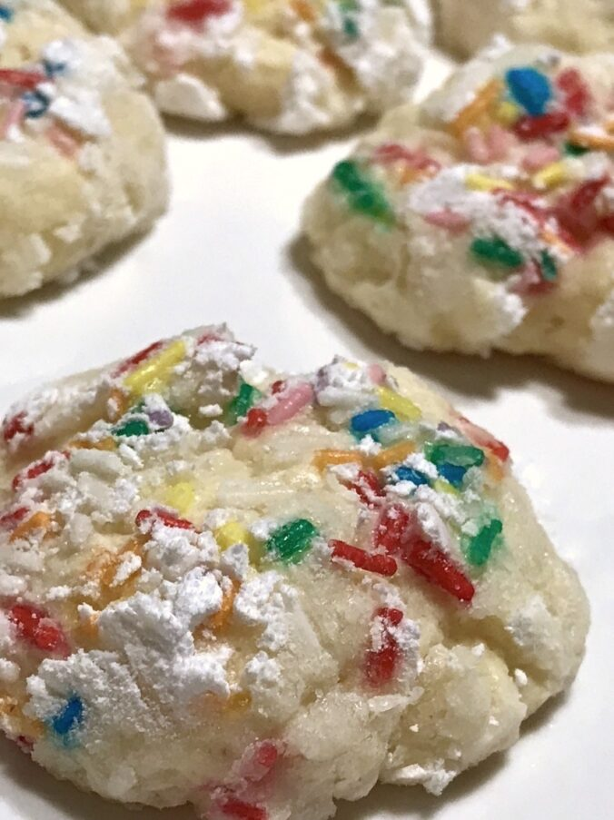 Vanilleplätzchen (Christmas Cookies mit Frischkäse)