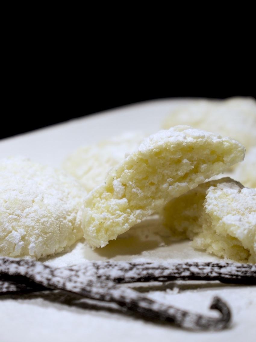 Zarte Vanilleplätzchen