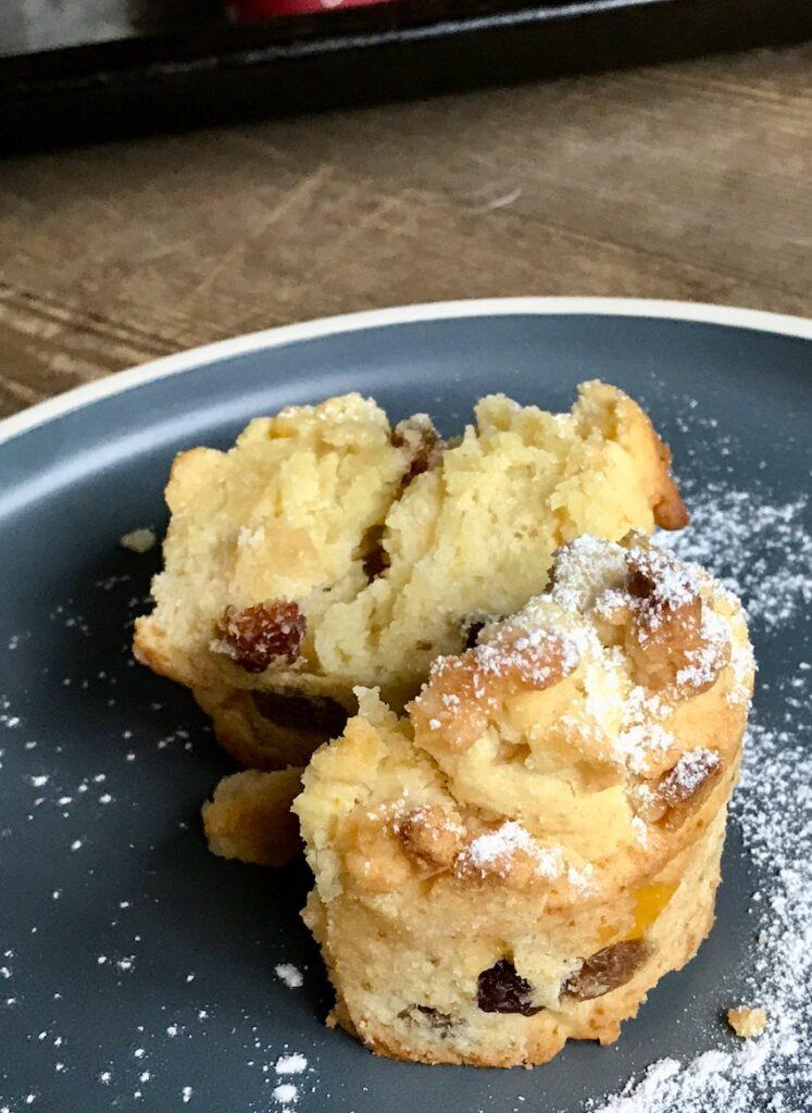 Christstollen Muffins