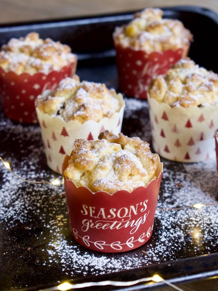Christstollen Muffins Rezept