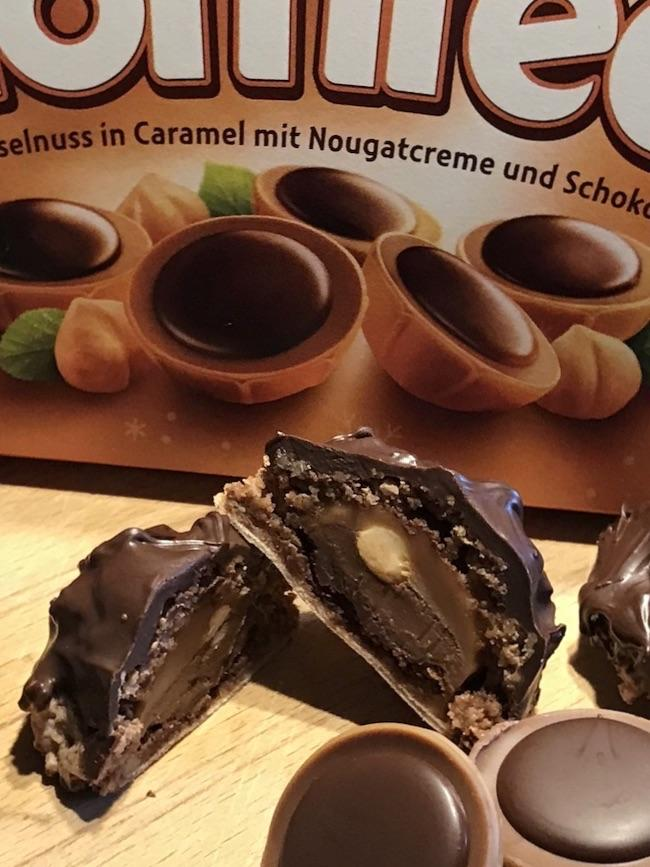 Toffifee Makronen mit Nuss-Nougat-Creme