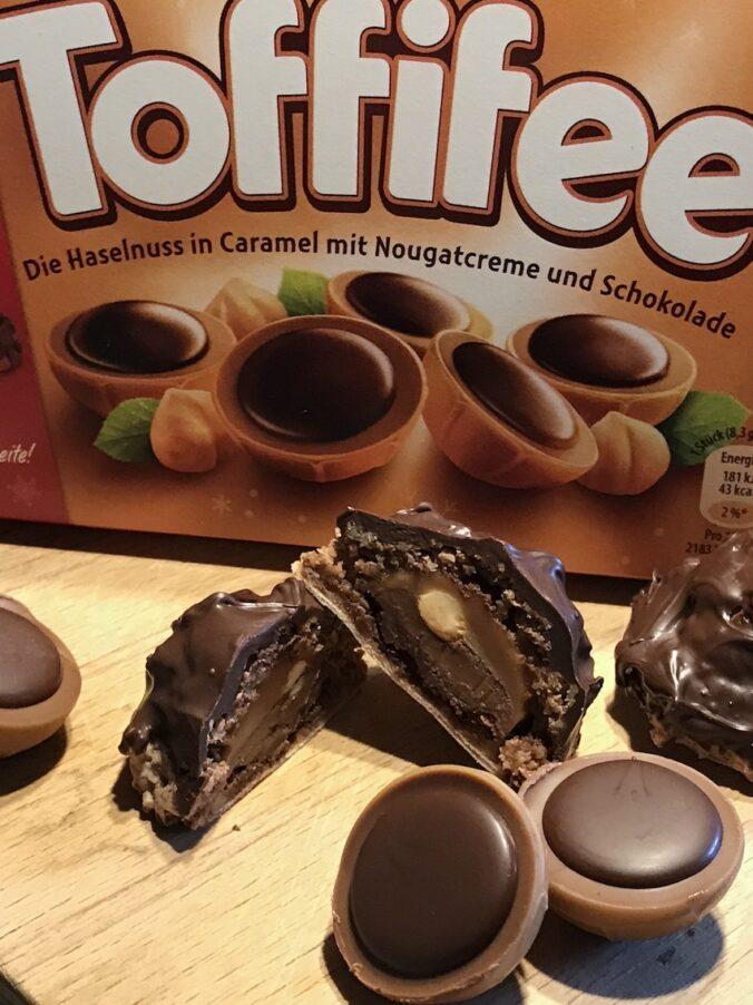 Toffifee-Makronen mit Nutella
